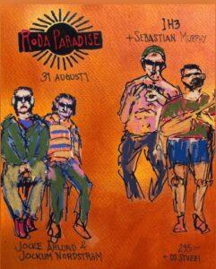 Roda Paradise Konsert Release
